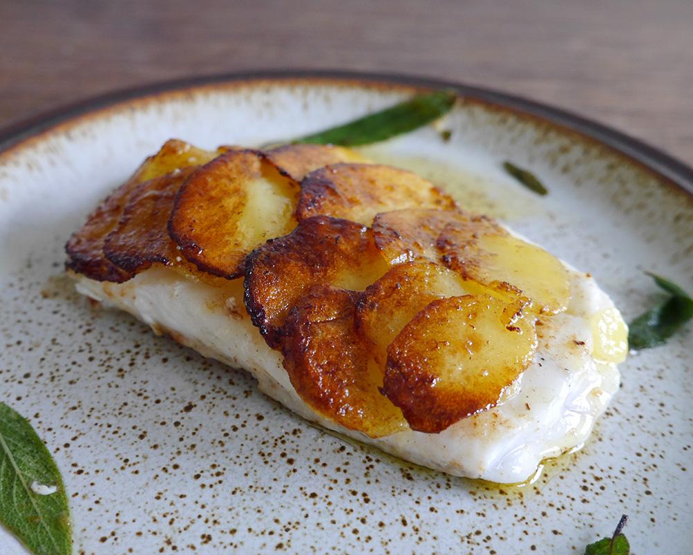 Pighvar med kartoffelskæl - elemento - kursus i undervandsjagt