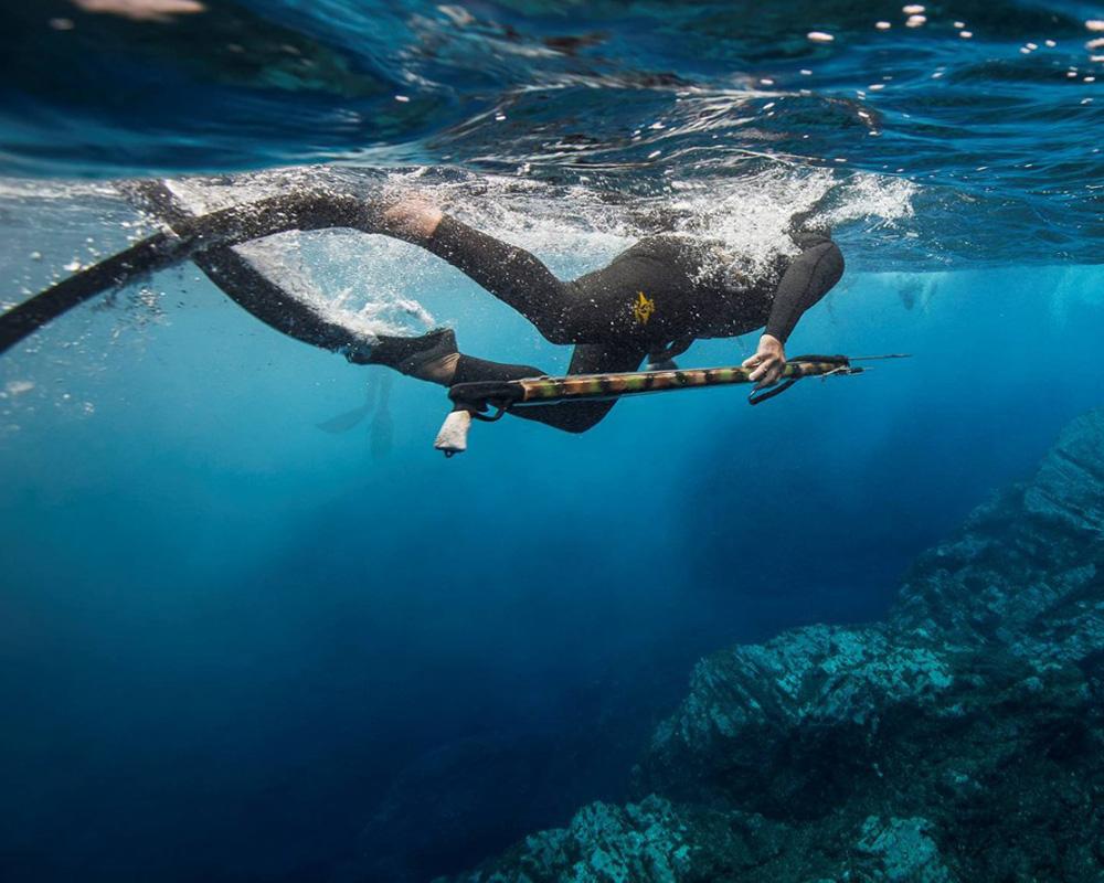 elemento kursus i undervandsjagt - dragt